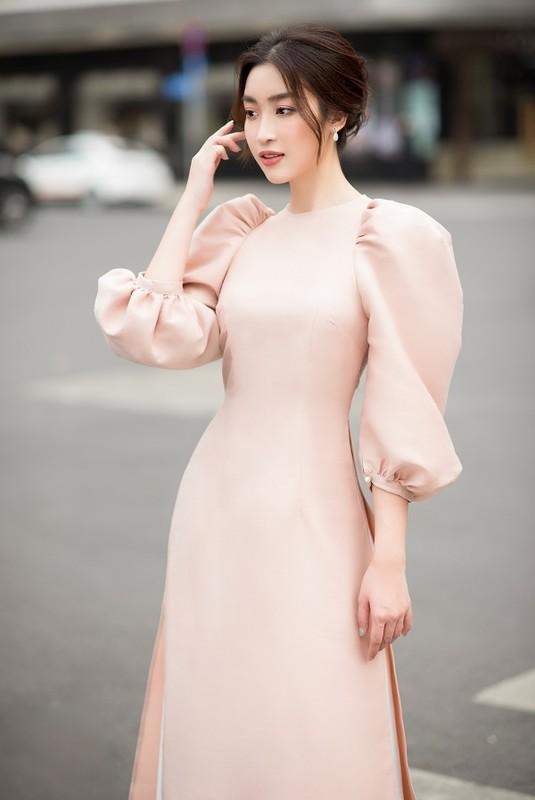 Do My Linh, Tieu Vy dep gay me trong bo anh ao dai Tet-Hinh-6