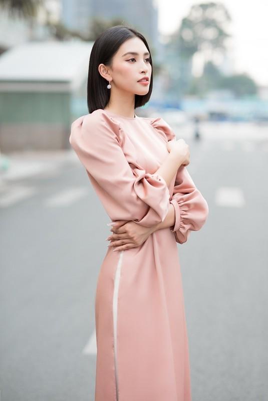 Do My Linh, Tieu Vy dep gay me trong bo anh ao dai Tet-Hinh-7