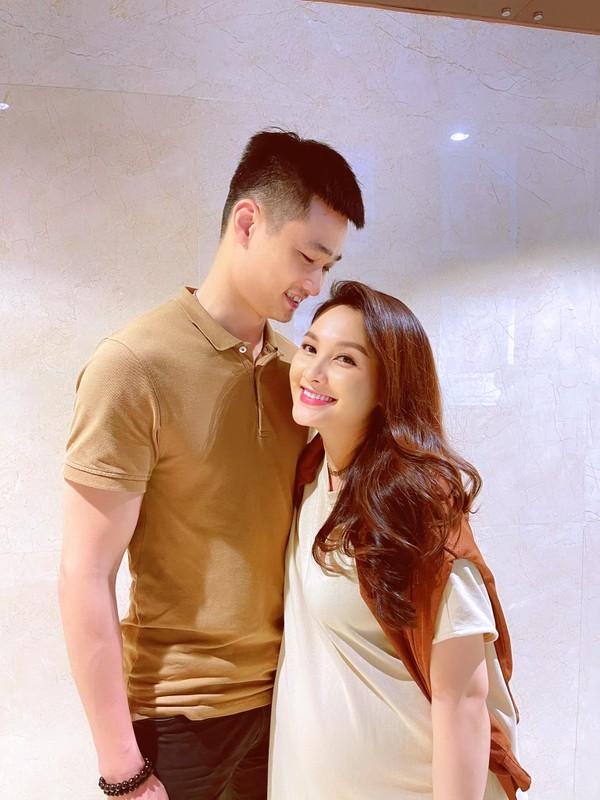 Nhan sac xinh dep cua dien vien Bao Thanh khi mang bau lan 2-Hinh-3