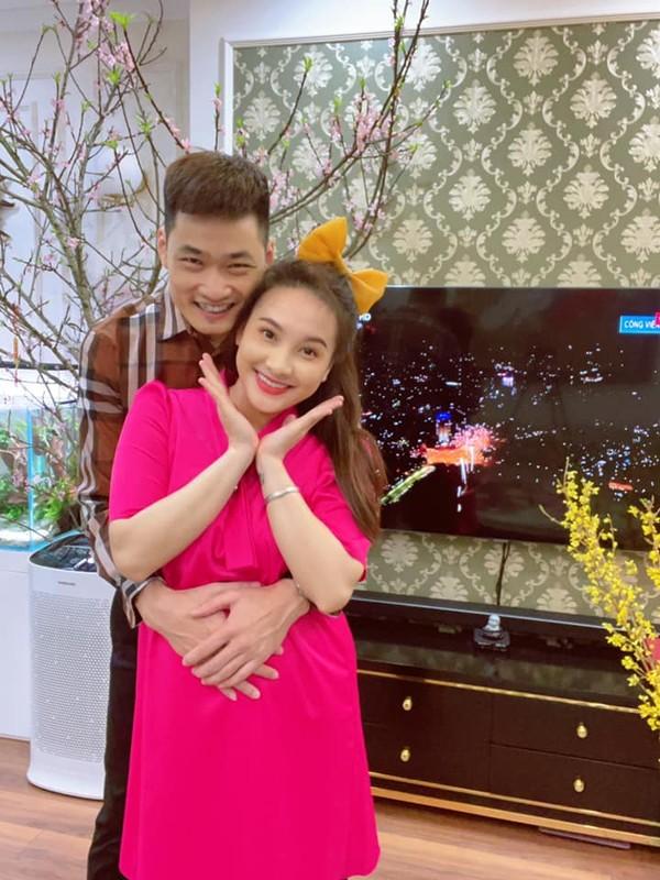 Nhan sac xinh dep cua dien vien Bao Thanh khi mang bau lan 2-Hinh-8
