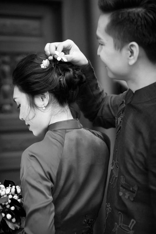 MC Hanh Phuc lan dau khoe anh cuoi sau hon mot nam ket hon-Hinh-7