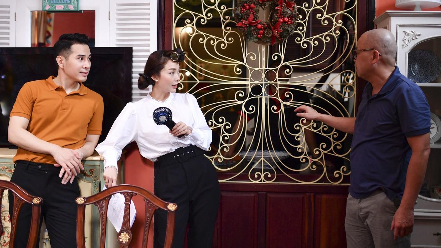 Mot ngay cua Minh Hang va be Bu Tot tren phim truong-Hinh-13