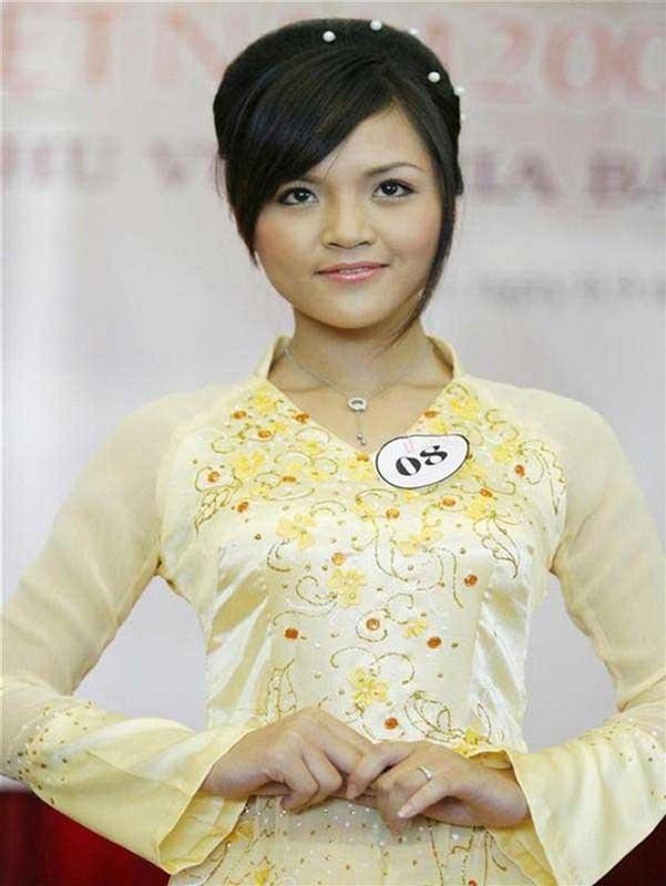 Loat anh Thu Quynh di thi hoa hau 13 nam truoc gay sot-Hinh-4