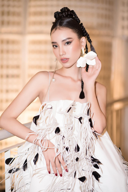 Nhan sac kieu diem cua Tran Hoang Ai Nhi thi Miss Intercontinental 2021