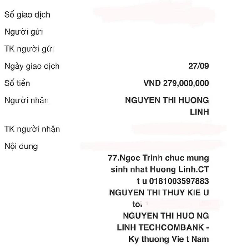 Chat nhu Ngoc Trinh, tang 279 trieu cho nguoi em trung sinh nhat-Hinh-3