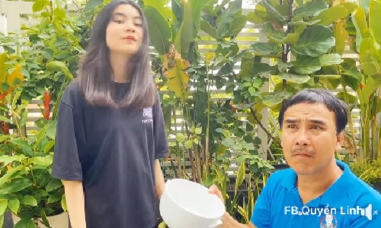 Con gai up bat cat toc cho MC Quyen Linh, ket qua bat ngo-Hinh-2