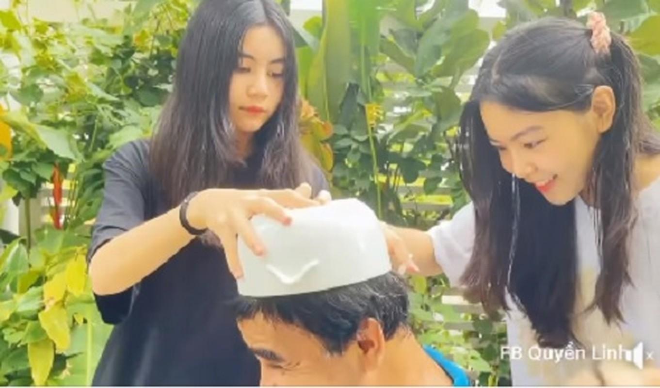 Con gai up bat cat toc cho MC Quyen Linh, ket qua bat ngo-Hinh-3