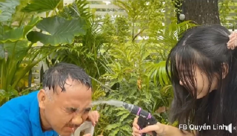 Con gai up bat cat toc cho MC Quyen Linh, ket qua bat ngo-Hinh-4