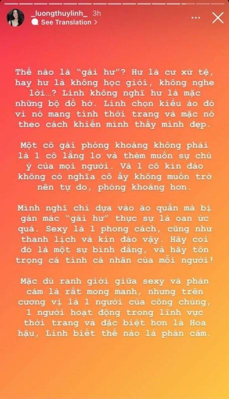 """Luong Thuy Linh dap tra khi mac phong khoang bi gan mac """"gai hu""""-Hinh-4"""