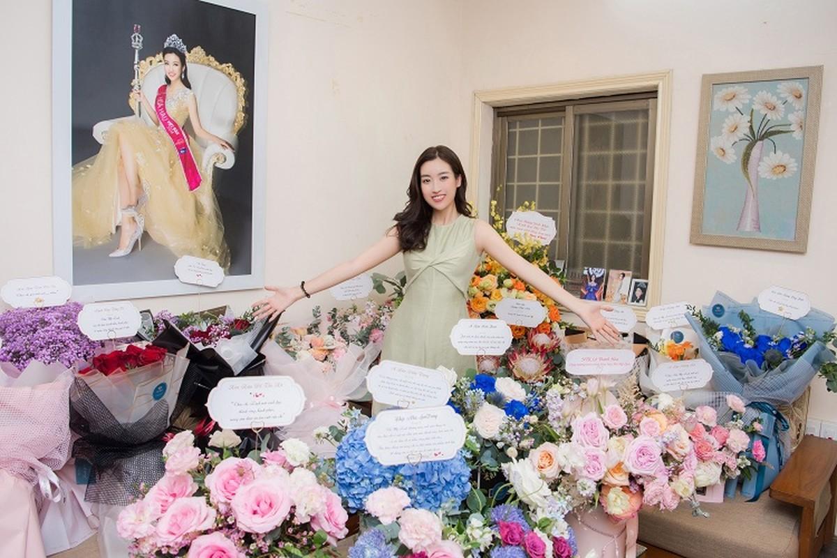 Do My Linh khoe phong ngap hoa trong ngay sinh nhat tuoi 25-Hinh-9