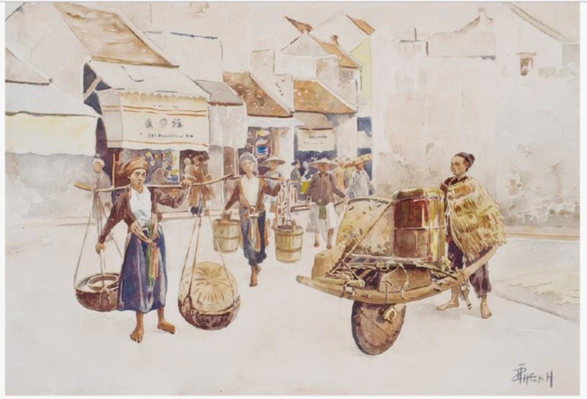 Bo tranh hiem ve canh sinh hoat o mien Bac Viet Nam xua-Hinh-8
