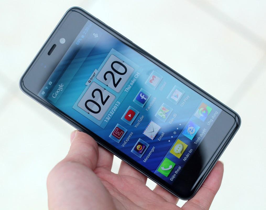 Nhung smartphone man hinh full HD gia re