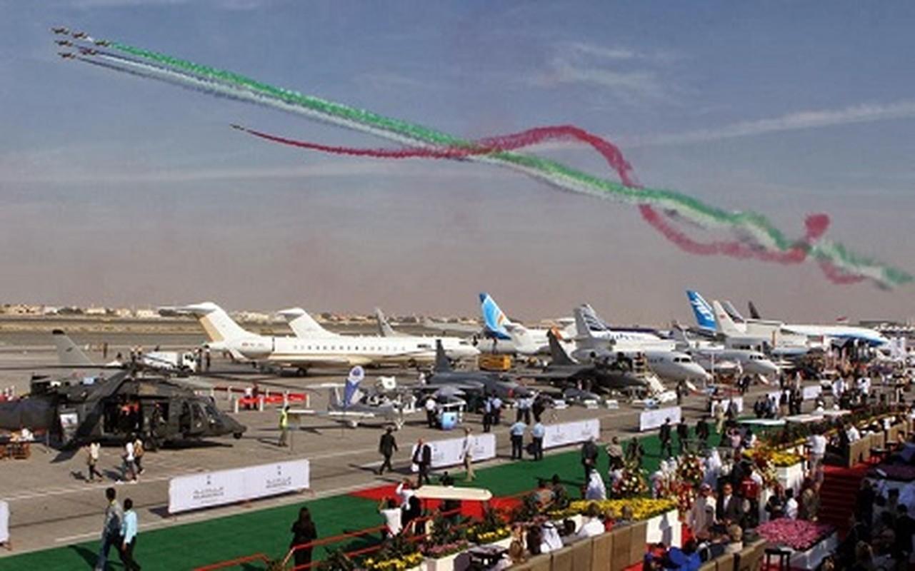 Toan canh hoanh trang cua trien lam hang khong Dubai Air Show-Hinh-7