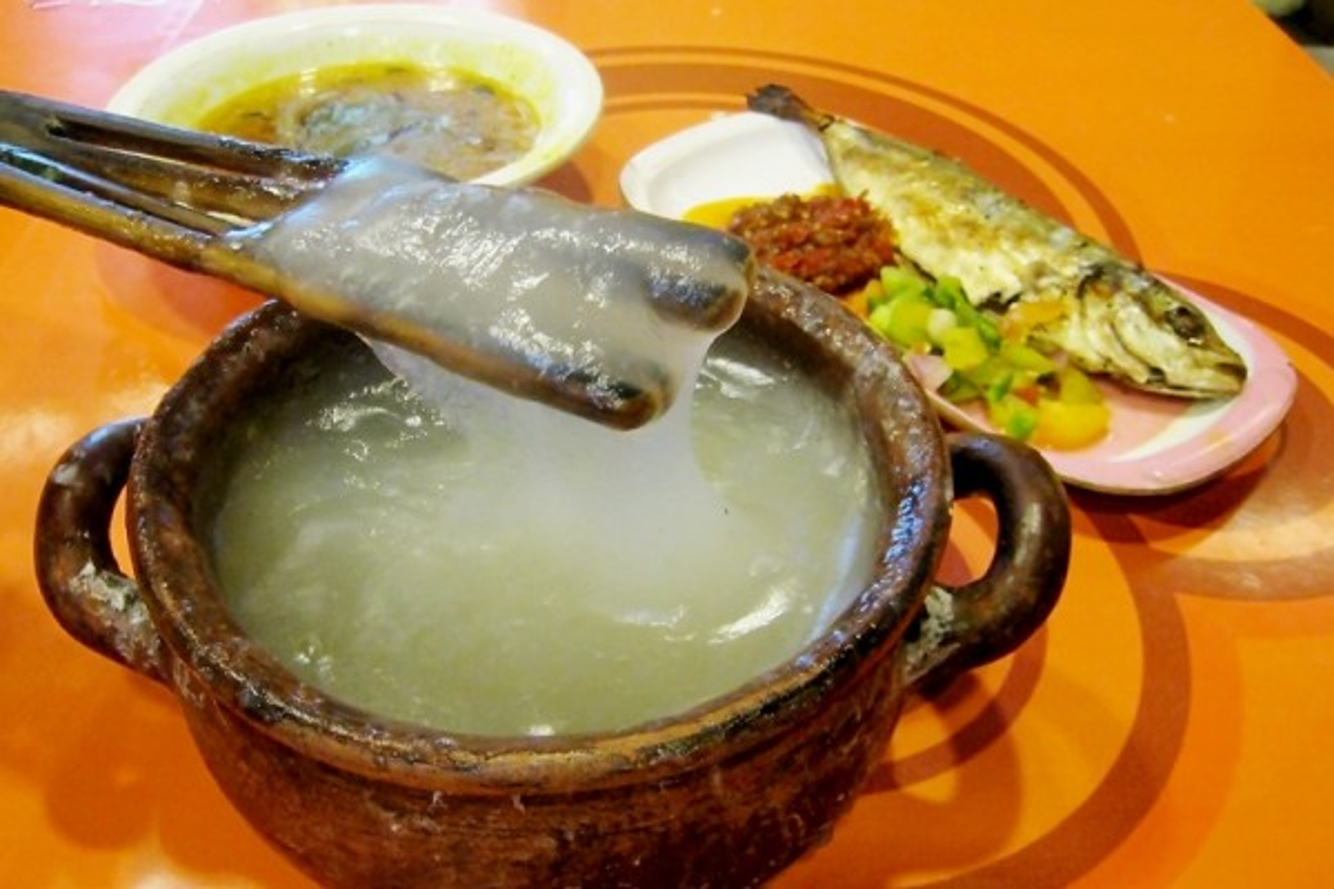 To mo mon chao deo dinh giong nhu keo keo o Indonesia