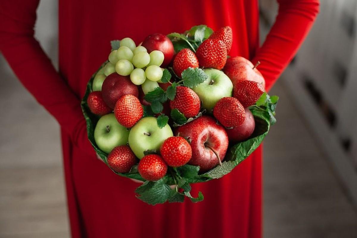 Chiem nguong nhung bo hoa tu rau cu qua cuc dep va bo duong