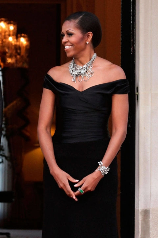 Ngam gu thoi trang sanh dieu cua cuu de nhat phu nhan Michelle Obama