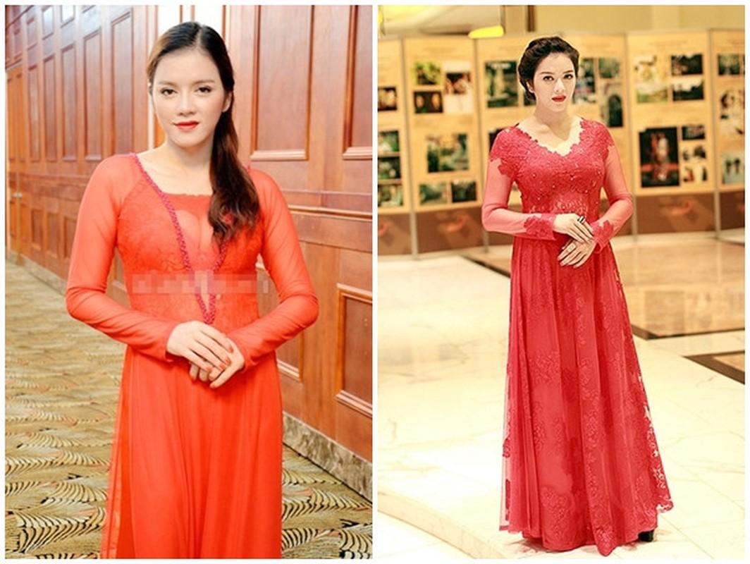 Khong ngo Ly Nha Ky cung co luc dien thoi trang sen sam den vay-Hinh-9