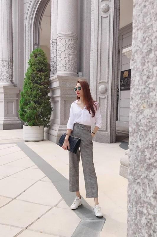 Khong ngo Dam Thu Trang, vo sap cuoi Cuong Do La, an mac gian di the nay-Hinh-9