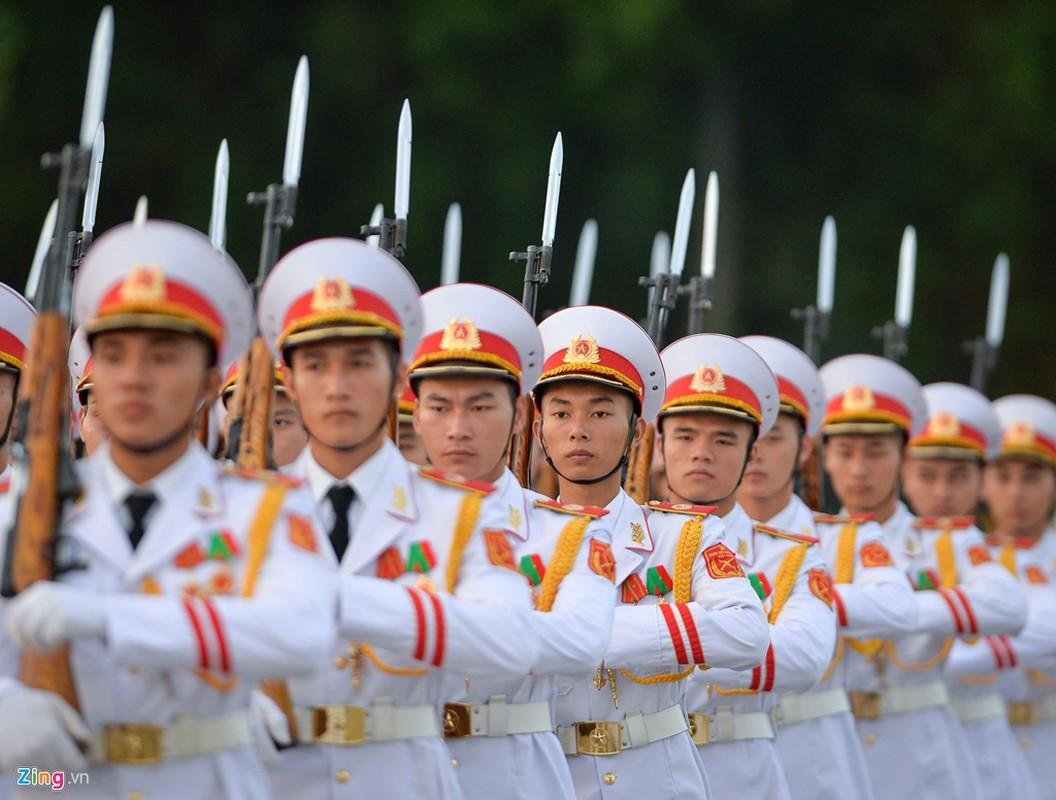 Nghi le thuong co o Lang Chu tich Ho Chi Minh-Hinh-2