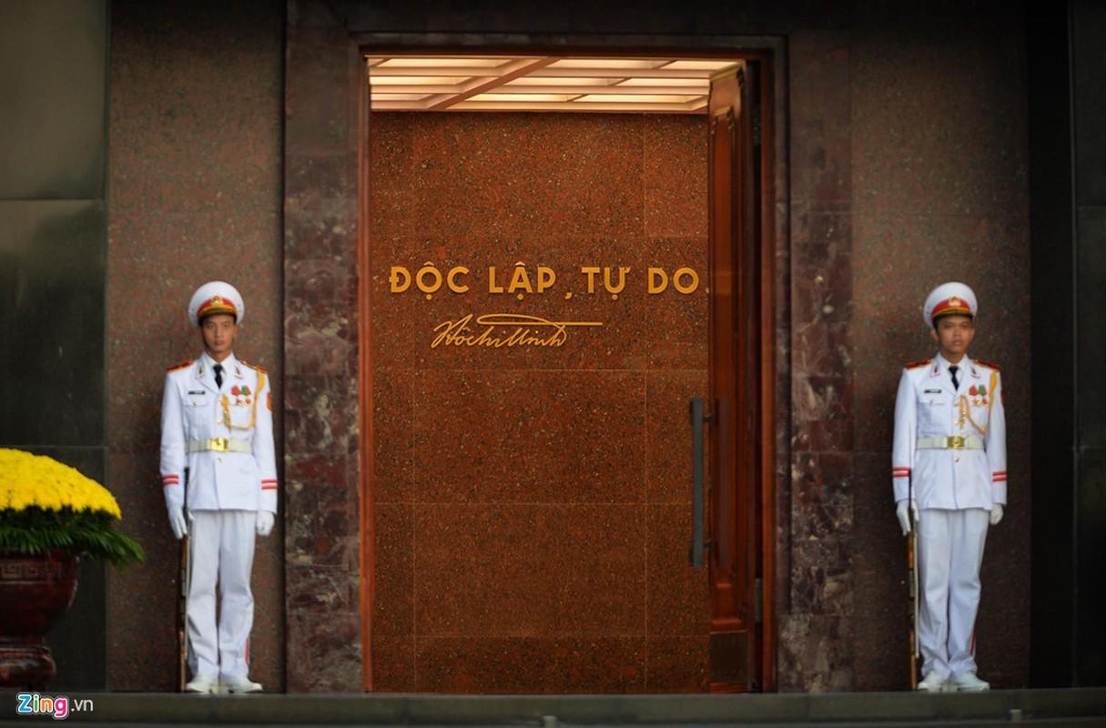 Nghi le thuong co o Lang Chu tich Ho Chi Minh-Hinh-3