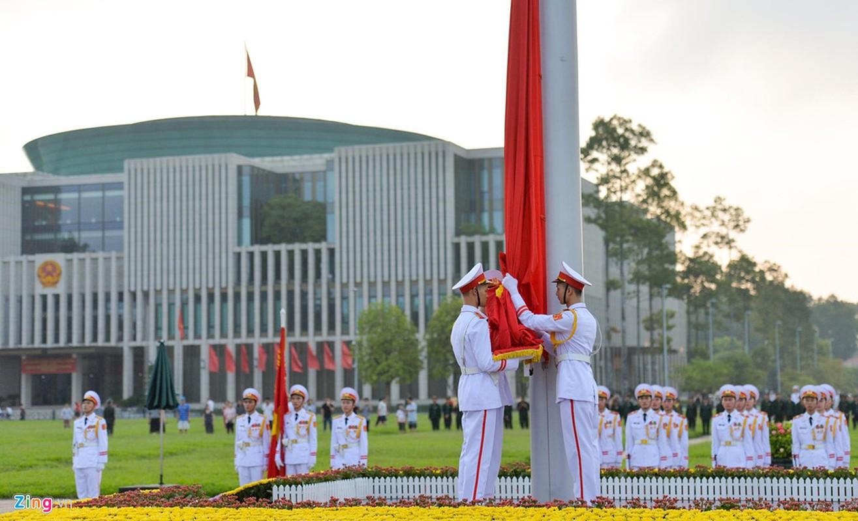 Nghi le thuong co o Lang Chu tich Ho Chi Minh-Hinh-4