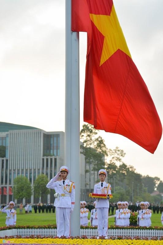 Nghi le thuong co o Lang Chu tich Ho Chi Minh-Hinh-6