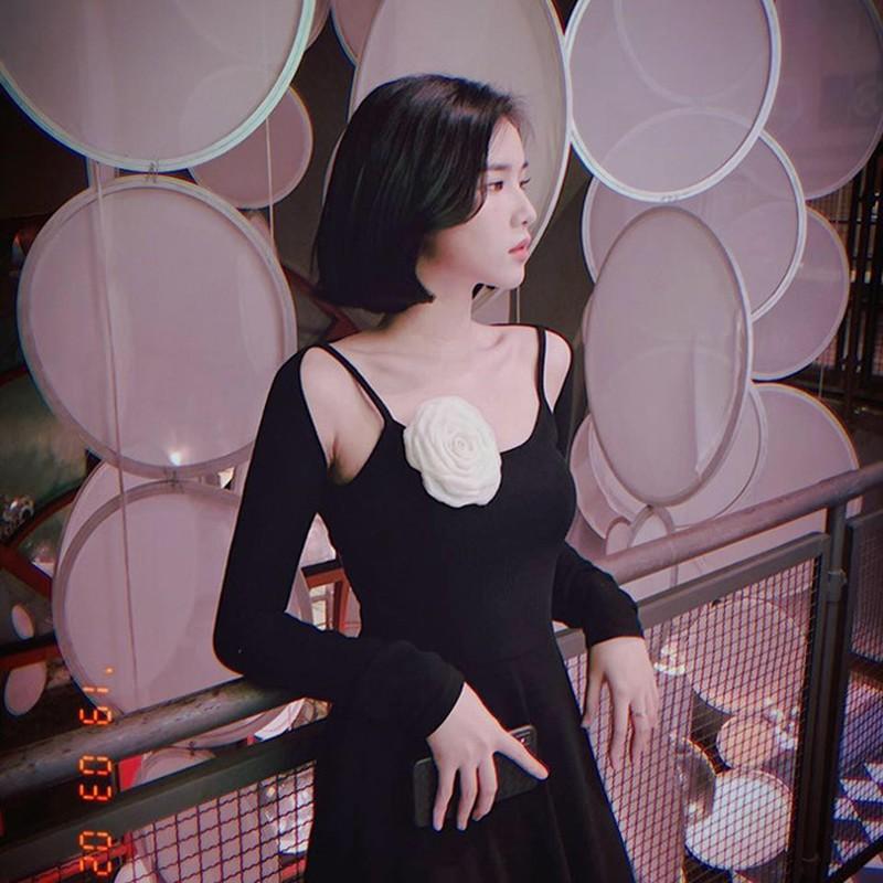 Gu thoi trang sexy cua nu MC nghi hen ho voi thu mon Bui Tien Dung-Hinh-4