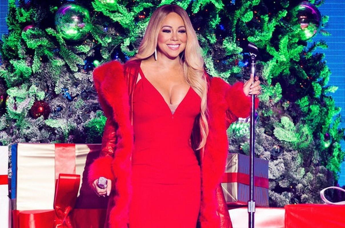 """""""Nu hoang nhac Giang sinh"""" Mariah Carey giu dang bang mon an dat do gi?"""