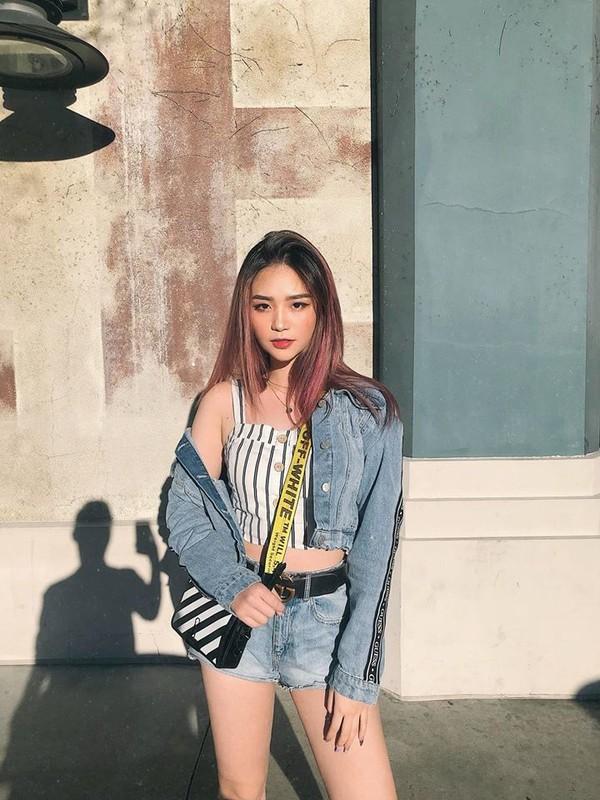 Nang hot girl lai Phap gay sot tren dat My vi cach an mac cuc sexy-Hinh-12