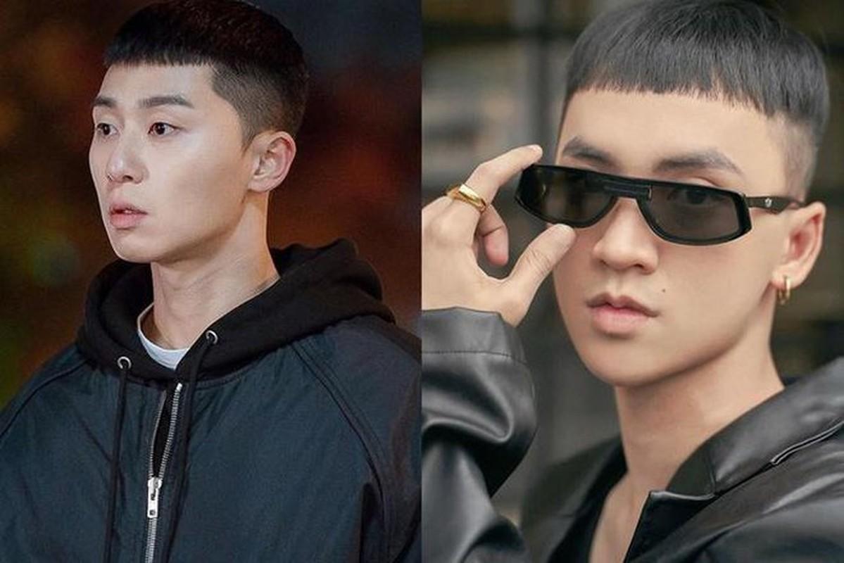 """""""Cuoi ngat"""" sao Viet bat trend kieu toc ngo tau cua Park Seo Joon """"'Tang lop Itaewon""""-Hinh-10"""