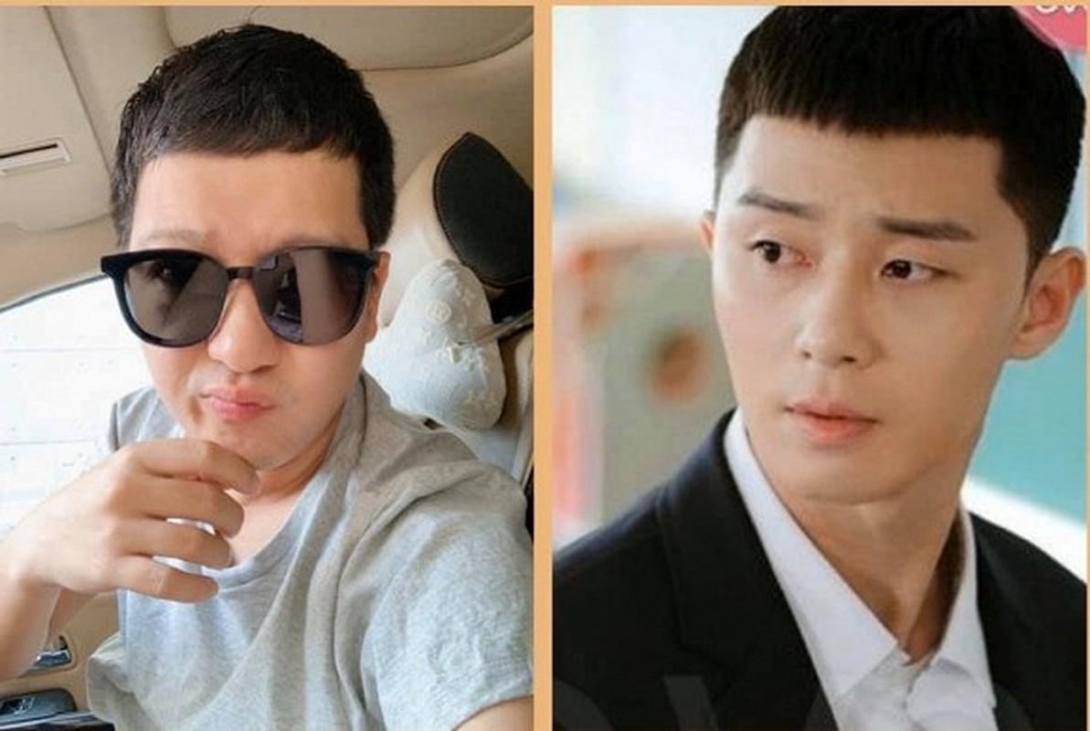 """""""Cuoi ngat"""" sao Viet bat trend kieu toc ngo tau cua Park Seo Joon """"'Tang lop Itaewon""""-Hinh-3"""