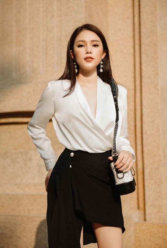 Linh Rin, ban gai cua em chong Ha Tang an mac cuc ky sang chanh-Hinh-12