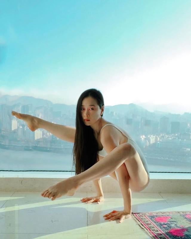 "Tu the yoga goi cam cua my nhan Han khien fan ""xit mau mui""-Hinh-13"