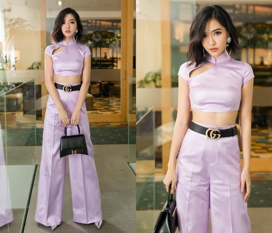 "Sao Viet sang chanh voi trang phuc mau ""tim lim tim sim"" hot trend-Hinh-8"
