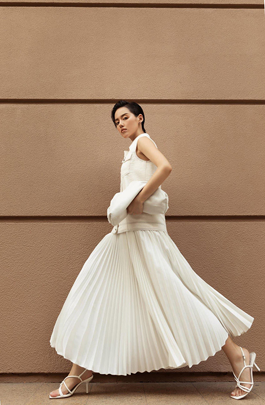 "Hoc my nhan Viet phoi do white on white dep ""chat ngat""-Hinh-7"