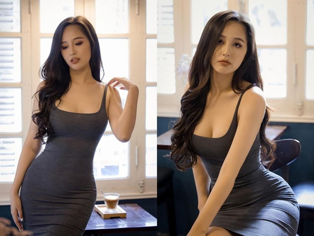 """Mai Phuong Thuy an mac goi cam khoe vong ba """"khung"""" 105cm"""