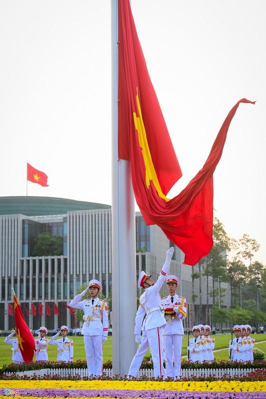 Le thuong co mung Quoc khanh o Lang Chu tich Ho Chi Minh-Hinh-5