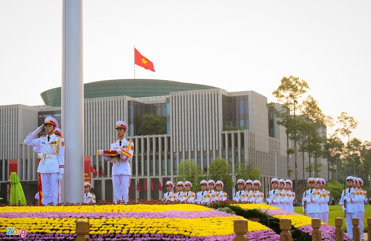 Le thuong co mung Quoc khanh o Lang Chu tich Ho Chi Minh-Hinh-6