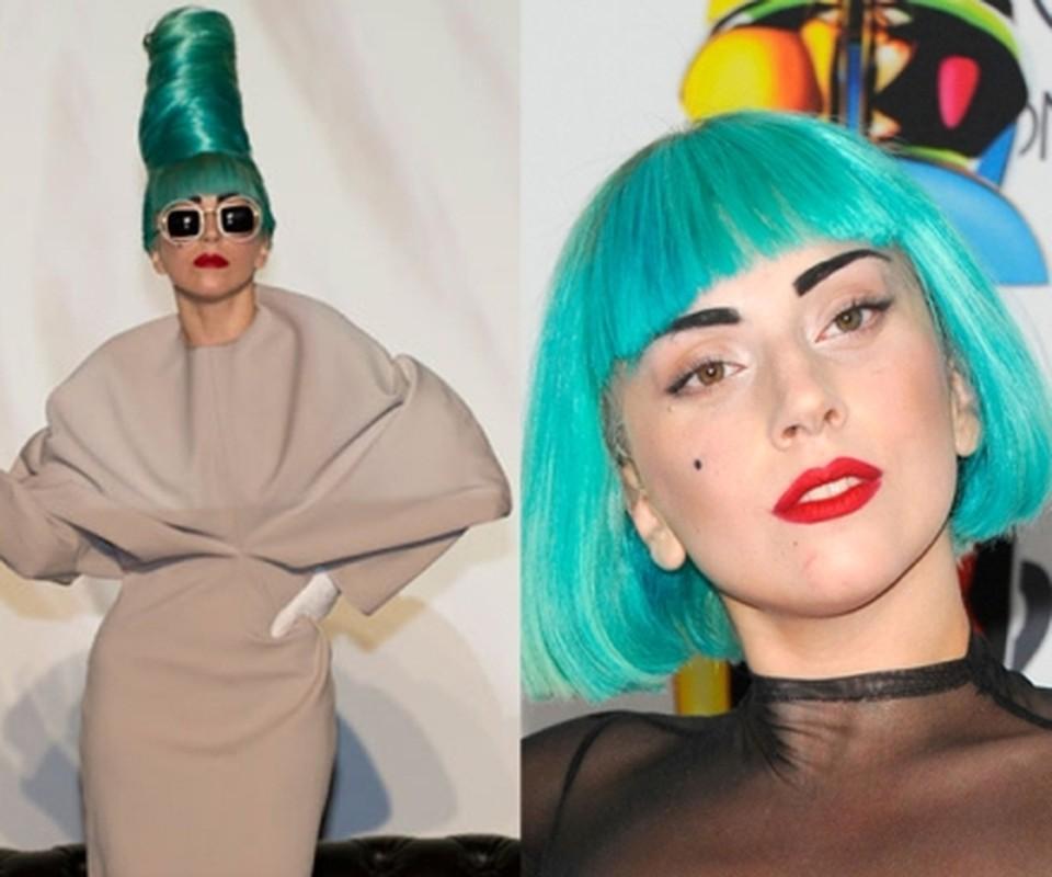"""Khan gia """"tron mat"""" boi nhung mau toc nhuom noi bat cua Lady Gaga-Hinh-11"""