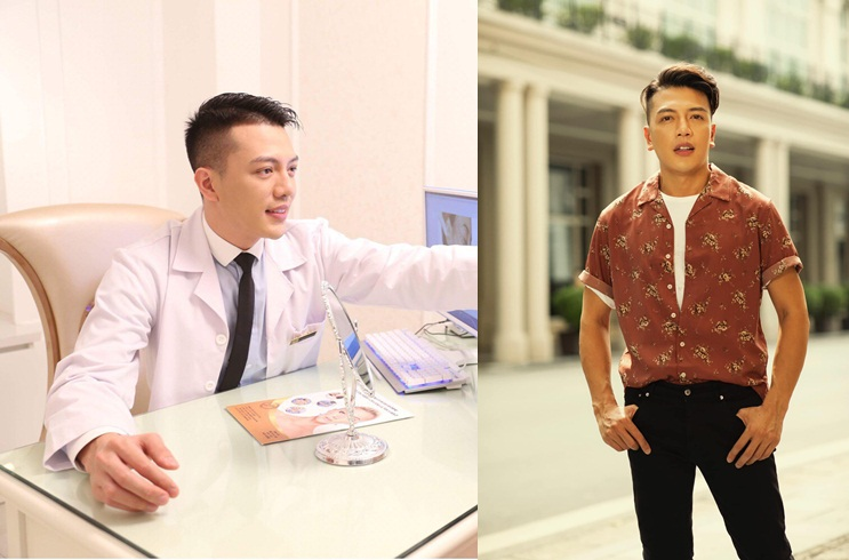 """Chang bac si 1m8 gay an tuong voi gu thoi trang """"chat lu"""""""