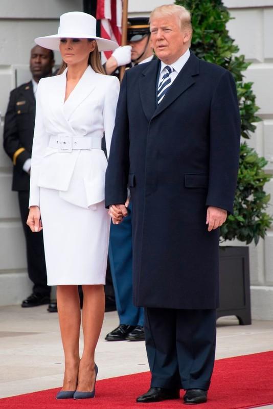 Gu thoi trang an tuong cua De nhat phu nhan My Melania Trump-Hinh-7
