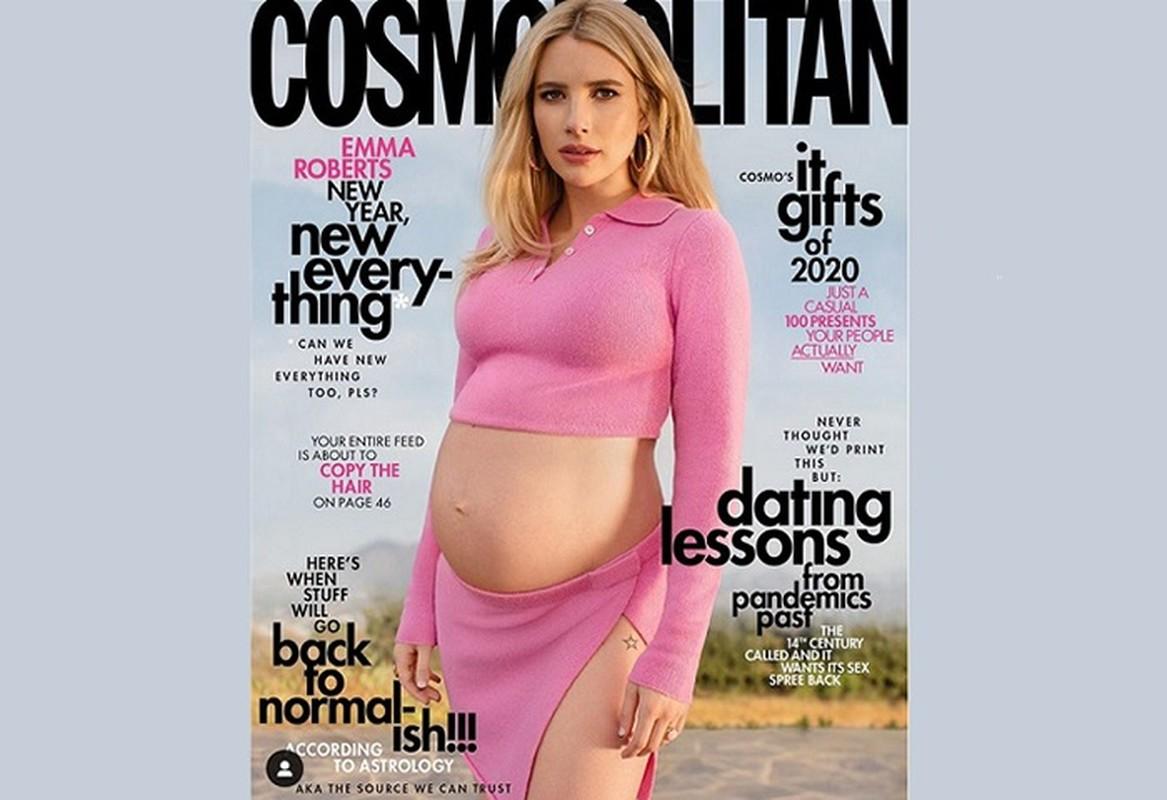 Gu thoi trang bau cuc sanh dieu cua my nhan Hollywood Emma Roberts-Hinh-2