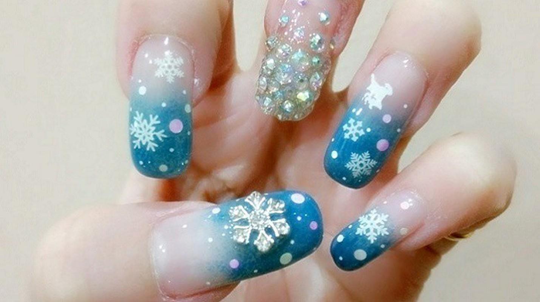 Goi y loat mau nail Noel cuc xinh cho chi em di choi-Hinh-6