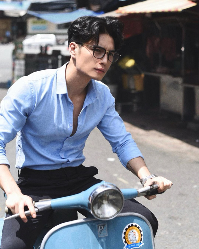 Ngam gu thoi trang lich lam cua ban trai kem Ngo Thanh Van 11 tuoi