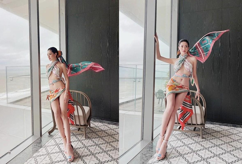 Luong Thuy Linh va cac my nhan Viet quan khan lam ao vay cuc sexy-Hinh-2