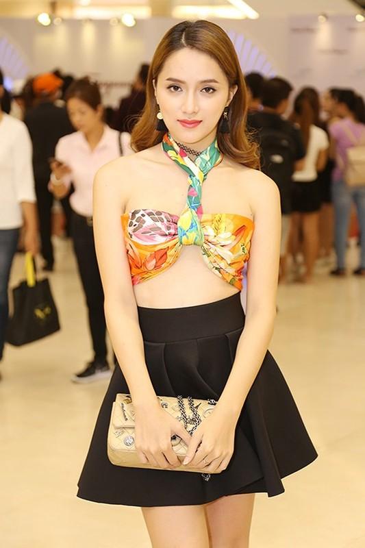 Luong Thuy Linh va cac my nhan Viet quan khan lam ao vay cuc sexy-Hinh-8