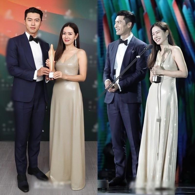 Hyun Bin va Son Ye Jin dien trang phuc dong dieu khien fan thich me-Hinh-5
