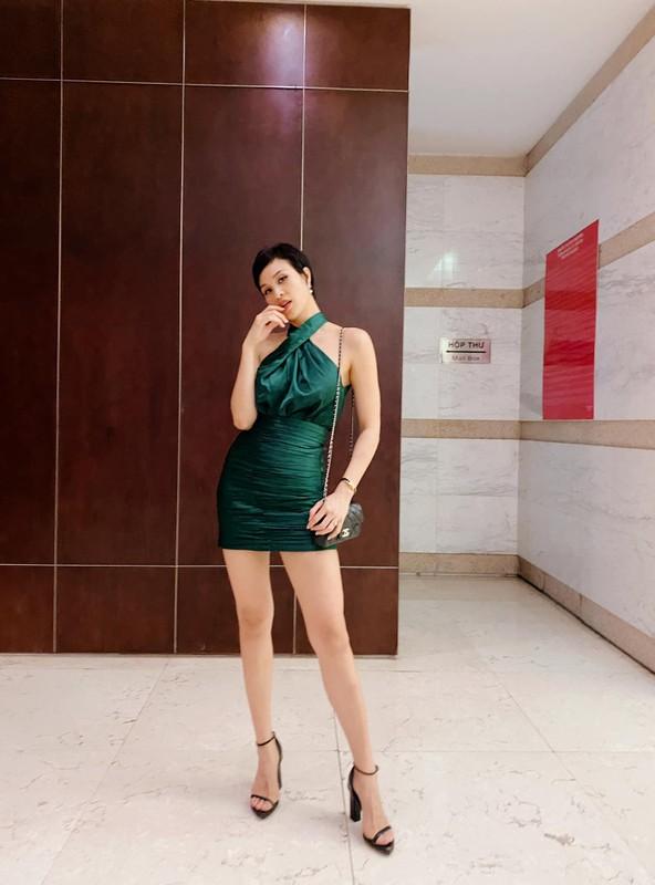 MC Phuong Mai chuong gu an mac nong bong, sexy sau khi sinh con-Hinh-12