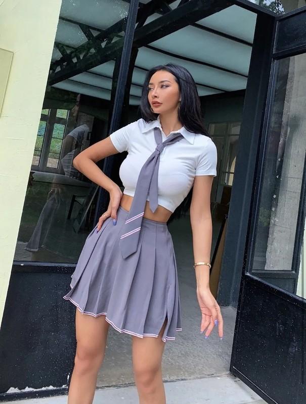 """Hot girl Trung Quoc """"dot mat"""" fan boi thoi trang nong bong khoe body phon thuc-Hinh-6"""