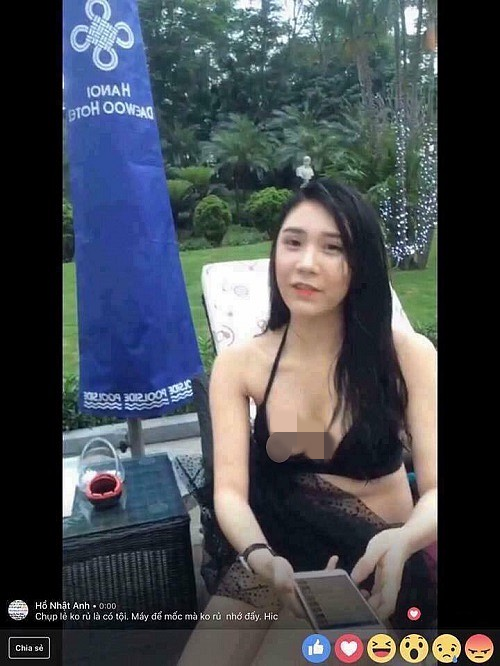Cac hot girl chau A mac ho hang livestream gay phan cam-Hinh-4
